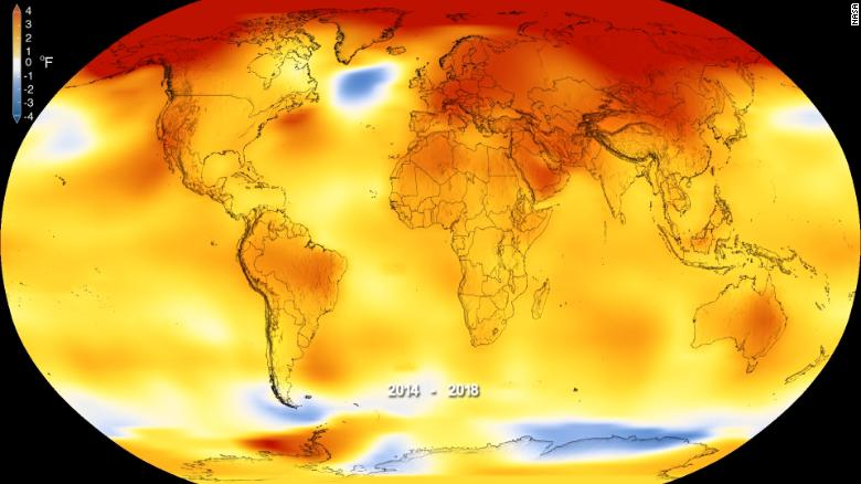 Earth just experienced one of the warmest years on record