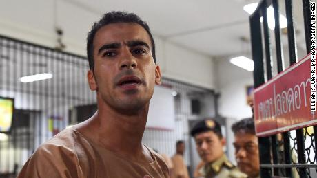 Hakeem Al-Araibi walks free after Bahrain drops extradition request