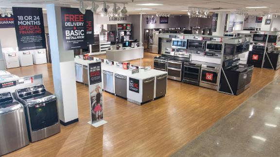 JCPenney will get rid of appliances from its stores.