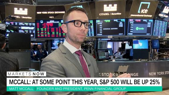 Founder & President of Penn Financial Group Matt McCall tells CNN's Richard Quest why there's still value in stocks thanks to low interest rates and solid earnings growth.