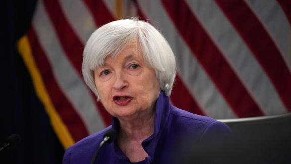 WASHINGTON, DC - DECEMBER 13:  Federal Reserve Chair Janet Yellen speaks during a news conference December 13, 2017 in Washington, DC. Yellen announced that the Federal Reserve is raising the interest rates by a quarter point to 1.5%.  (Photo by Alex Wong/Getty Images)