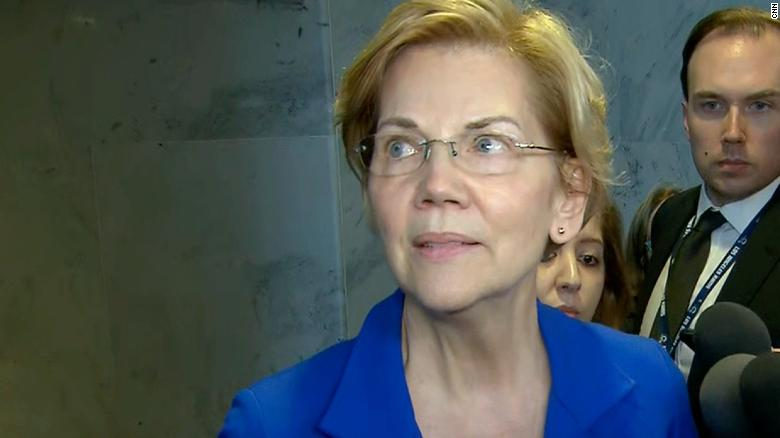Warren: I'm not a member of an American Indian tribe