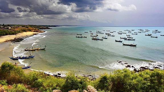 Senya Beraku, Ghana, West Africa