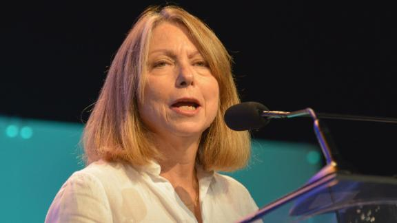 PHILADELPHIA, PA - OCTOBER 16:  Jill Abramson, first woman to serve as Washington bureau chief, managing editor and executive editor of The New York Times speaks at 2014 Pennsylvania Conference For Women at Philadelphia Convention Center on October 16, 2014 in Philadelphia, Pennsylvania.  (Photo by Lisa Lake/Getty Images for Pennsylvania Conference for Women)