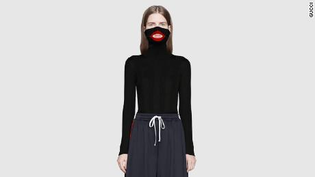 b7b39f39a16 Fashion house Gucci apologize after a controversial jumper caused an  outcry. CREDIT  Gucci