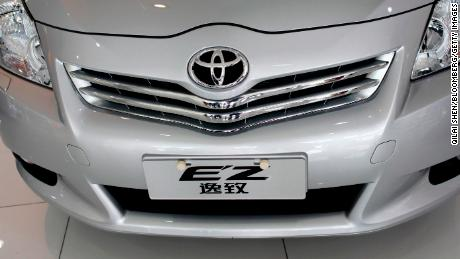 Toyota is growing in China as global rivals stumble