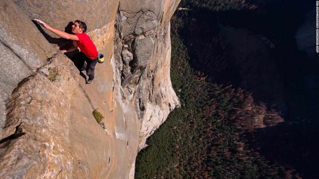 'If he falls, he dies' -- Climbing 3000ft without ropes