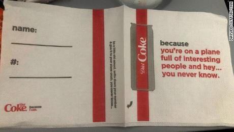 Image result for delta coke napkins