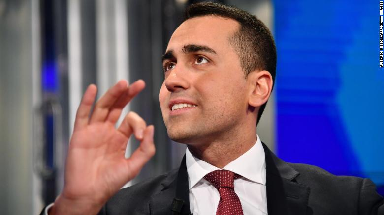 Leader of Italy's populist Five Star Movement Luigi Di Maio inflamed tensions between France and Italy after meeting French anti-government  protesters.