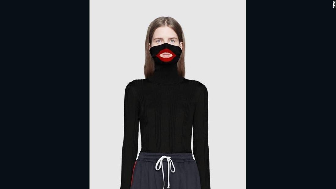 6c069f71d42 Gucci apologizes after social media users say sweater resembles blackface -  CNN