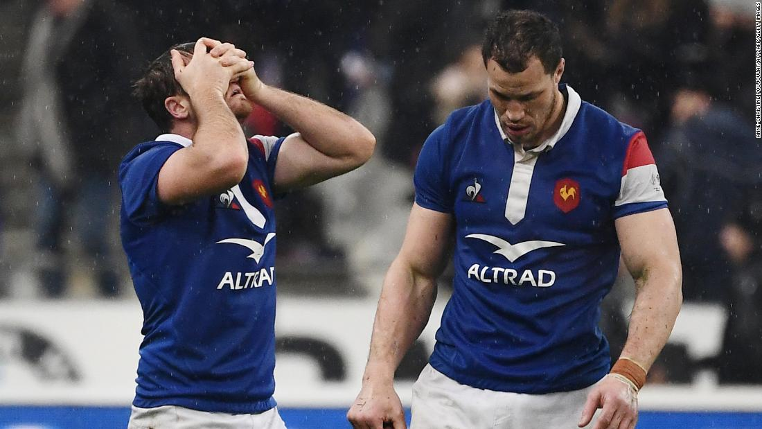 Despite leading 16-0 at halftime, France made a series of errors to cough up its lead to Wales in the opening game of the Six Nations.