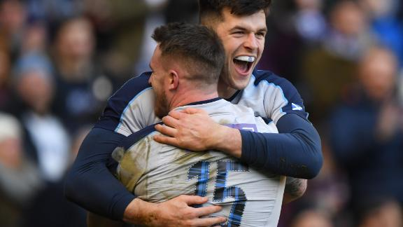 Scotland got its campaign off to a winning start with a convincing victory over Italy at Murrayfield. Wing Blair Kinghorn (pictured) scored three tries, the first Scotsman to do so in the Six Nations for 30 years.