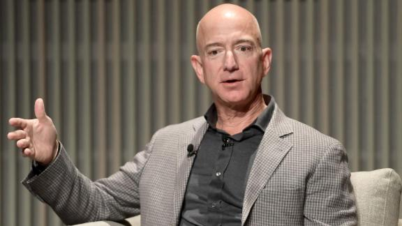 SAN FRANCISCO, CA - OCTOBER 15:  Jeff Bezos speaks onstage at WIRED25 Summit: WIRED Celebrates 25th Anniversary With Tech Icons Of The Past & Future on October 15, 2018 in San Francisco, California.  (Photo by Matt Winkelmeyer/Getty Images for WIRED25  )