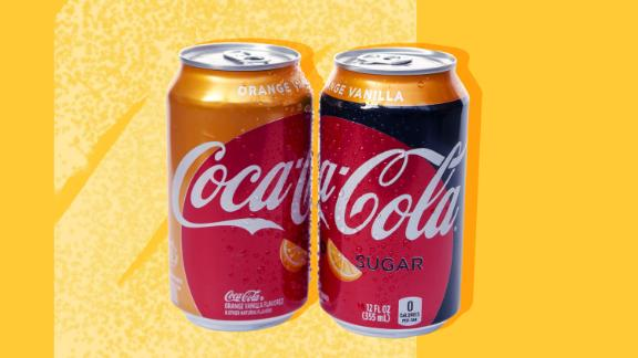 Innovations like Orange Vanilla Coke helped the company this quarter.