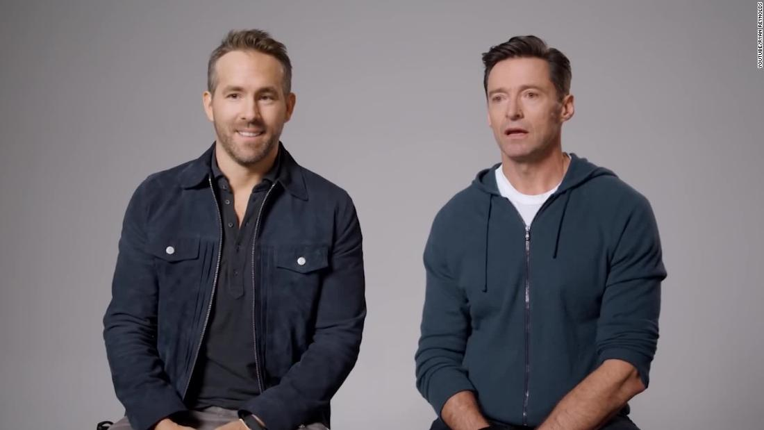 Ryan Reynolds and Hugh Jackman are calling a truce for a good cause - CNN