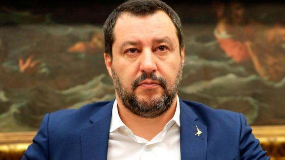 "In January, Salvini called Macron a ""terrible president."""