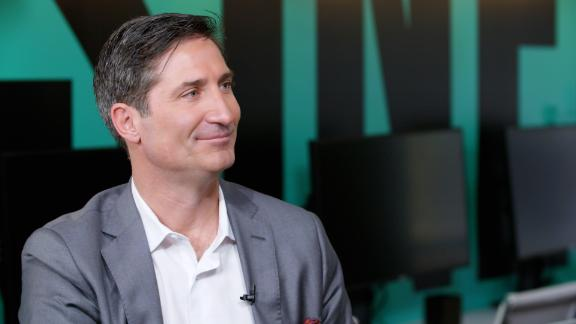 CNN's Christine Romans sits down with Chipotle's CEO to discuss the chain's turnaround, its soaring stock price, and what the future of its restaurants looks like.