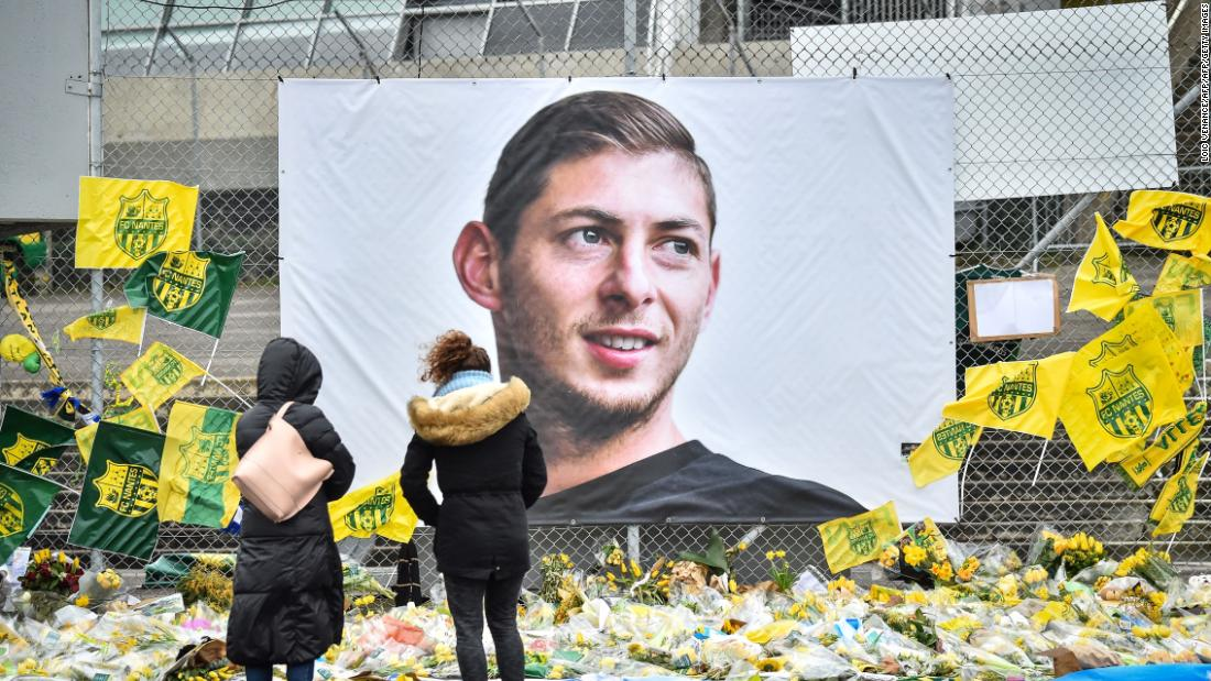Emiliano Sala: Fans detained after 'mocking' death with airplane gestures during game