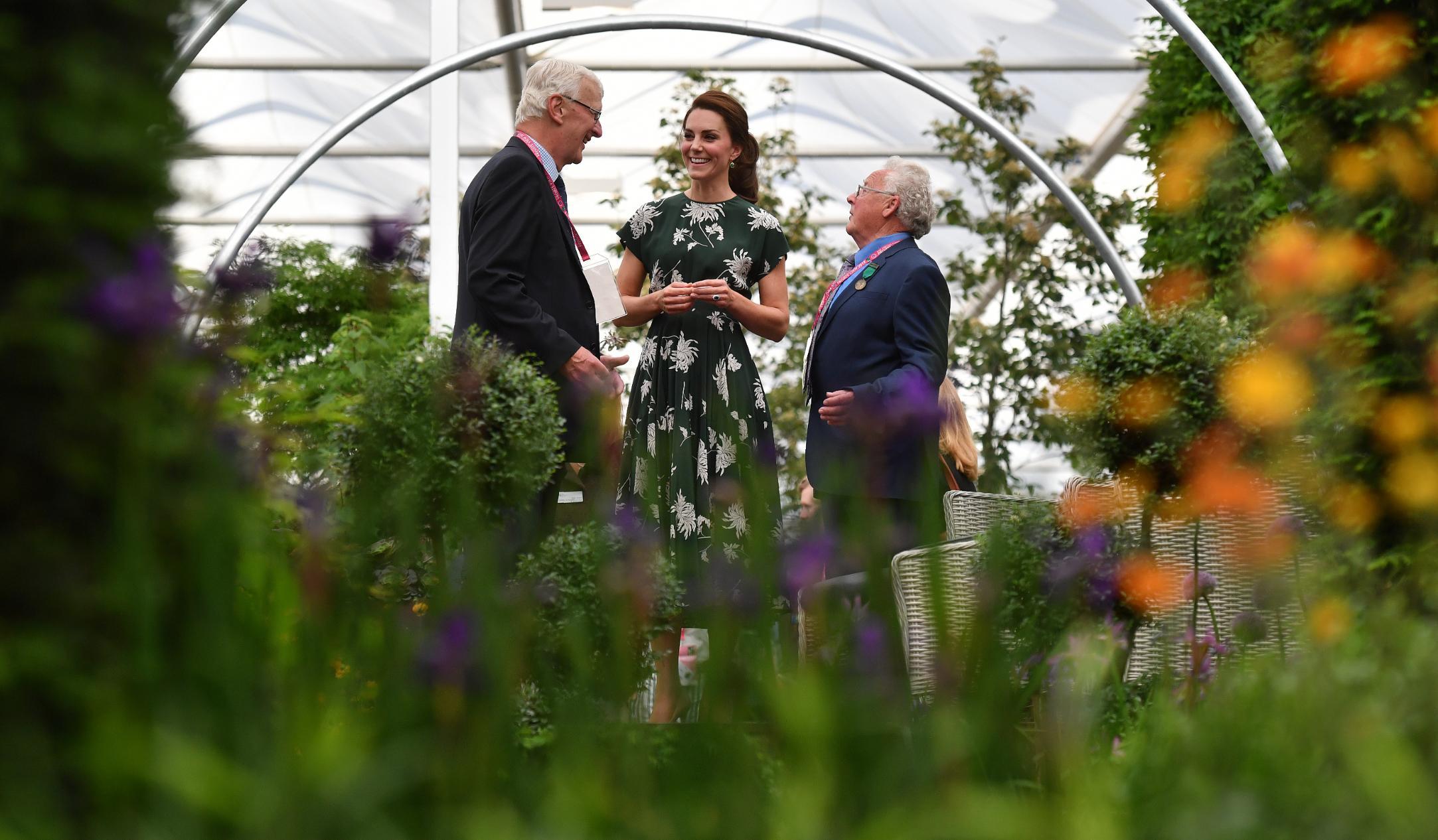 kate middleton: chelsea flower show garden plans unveiled - cnn style