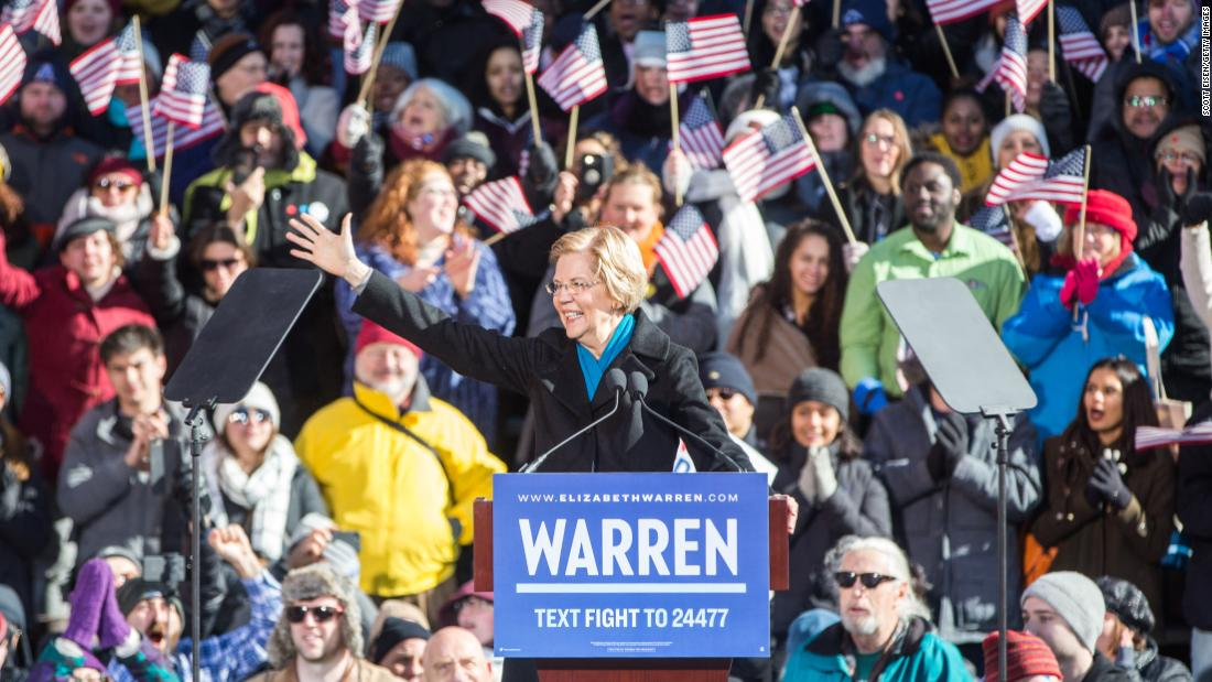 Elizabeth Warren wants to 'nerd out with you' on policy