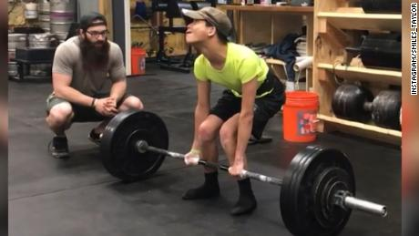 See Athlete With Cerebral Palsy Deadlift 200 Pounds Cnn Video