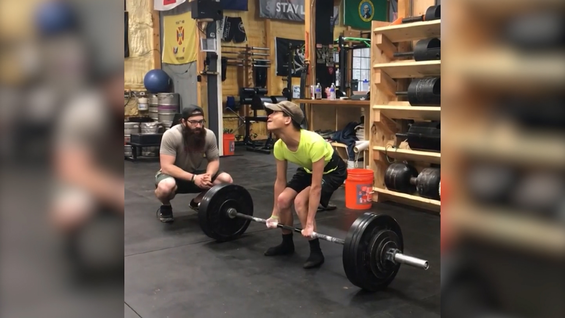 See athlete with cerebral palsy deadlift 200 pounds - CNN Video