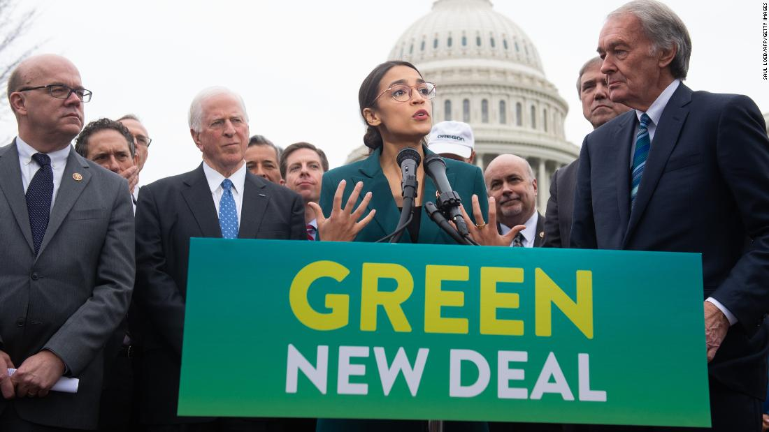 McConnell promises a vote on Democrats' Green New Deal