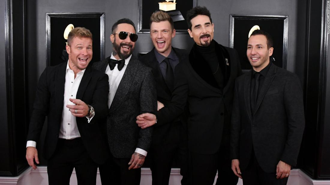 Backstreet Boys release new 20th anniversary edition of 'I Want It That Way'