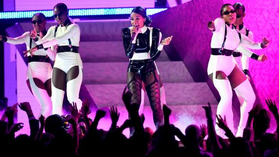 Janelle Monae will be among the performers at Global Goal Live next year. (Photo by Kevork Djansezian/Getty Images)