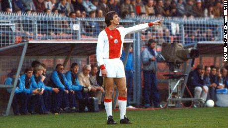 Cruyff returned to Ajax for a second spell towards the end of his career, before becoming the club's manager in 1985.