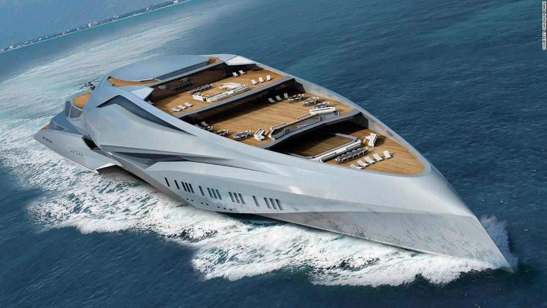 This could be world's biggest superyacht