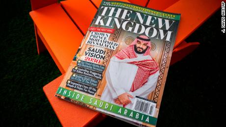 Glossy magazine of American Media Inc. about Saudi Arabia.