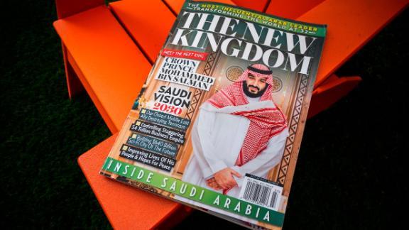 American Media Inc.'s glossy magazine about Saudi Arabia.