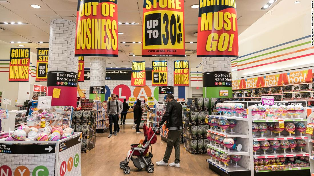Toys 'R' Us wants to return to the United States