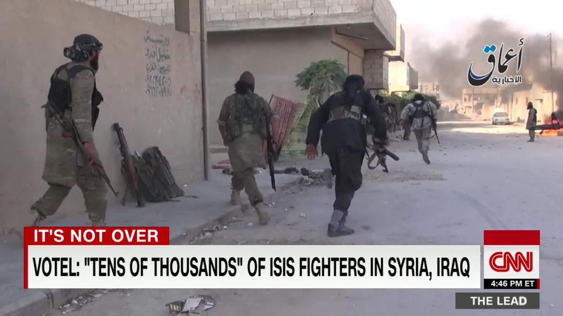 ISIS fighters have been fleeing from Syria into Iraq, perhaps with millions of dollars in tow