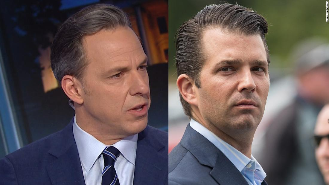 Tapper on Donald Trump Jr.: That is blatant racism - CNN Video