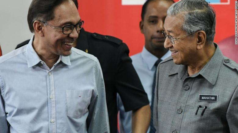Malaysia's Prime Minister Mahathir Mohamad resigns