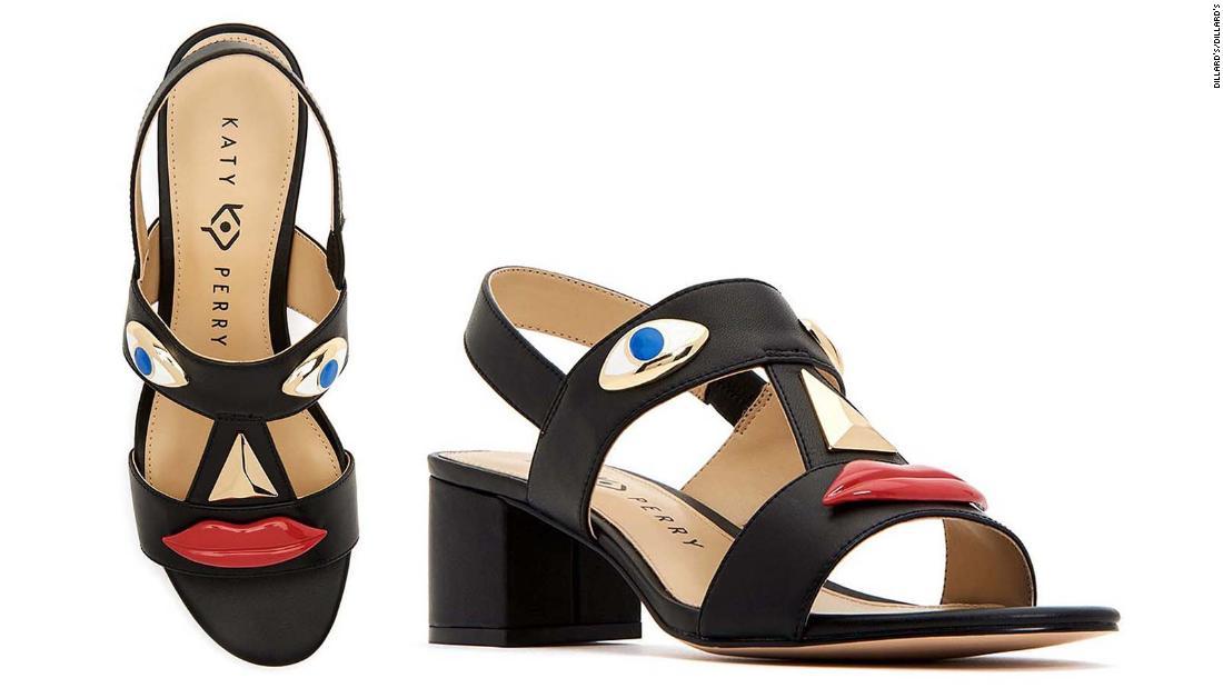 Katy Perry faces criticism over shoe design resembling blackface
