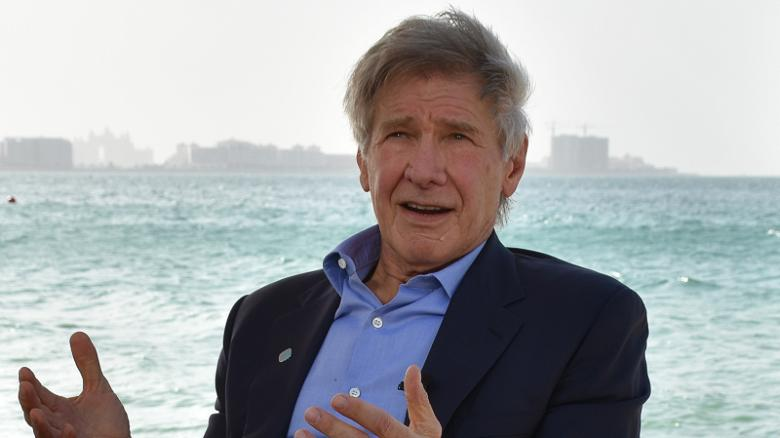 Harrison Ford in Dubai, for the World Government Summit.