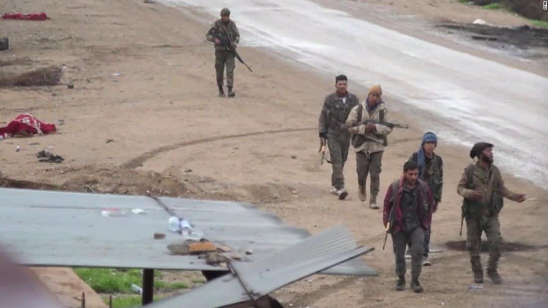 Battle to push ISIS out of its last Syrian enclave intensifies