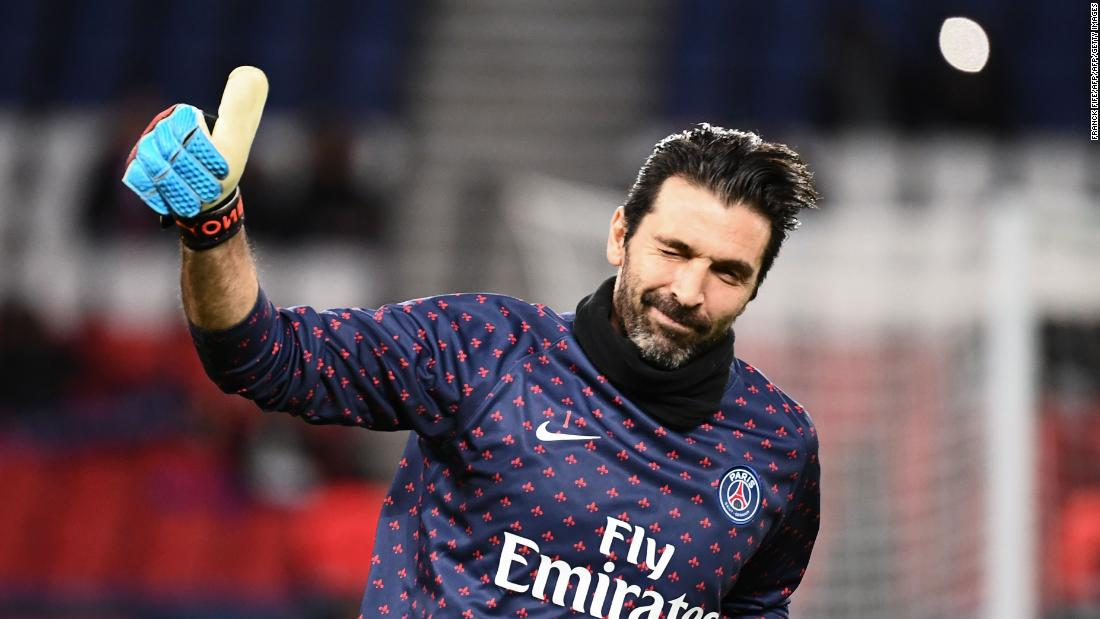 826d0360e Gianluigi Buffon  How Marc Chagall painting helped PSG keeper cope with  bout of depression - CNN