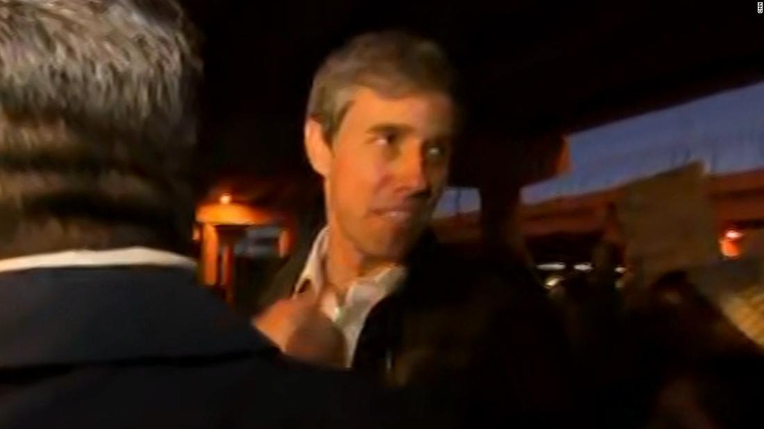 Beto O'Rourke: Rally against border wall is 'inspiring' - CNN Video
