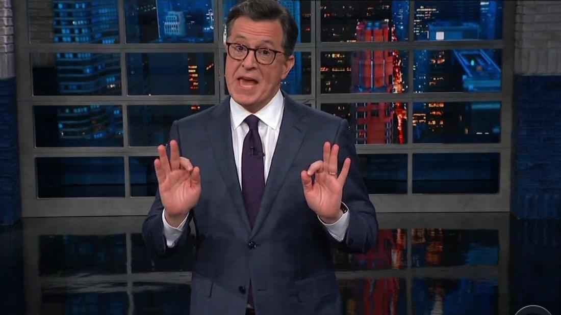 Late-night comics tackle battle for Trump's wall  - CNN Video