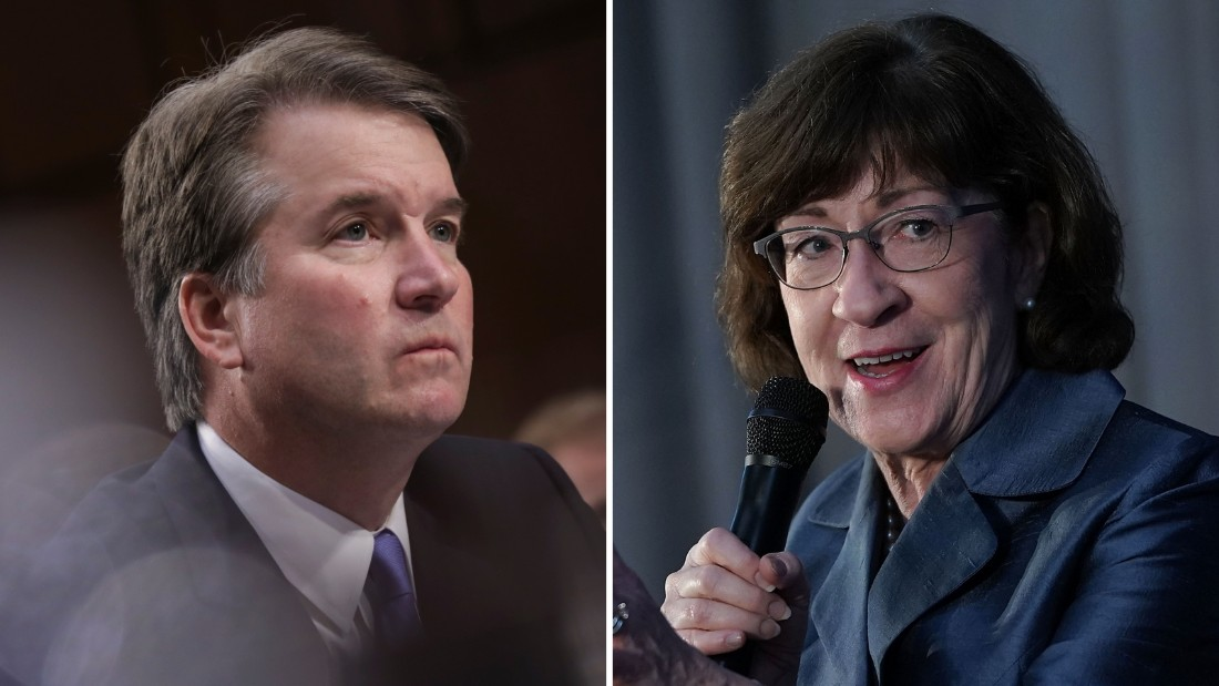 Susan Collins defends Brett Kavanaugh vote after he dissents in abortion access case