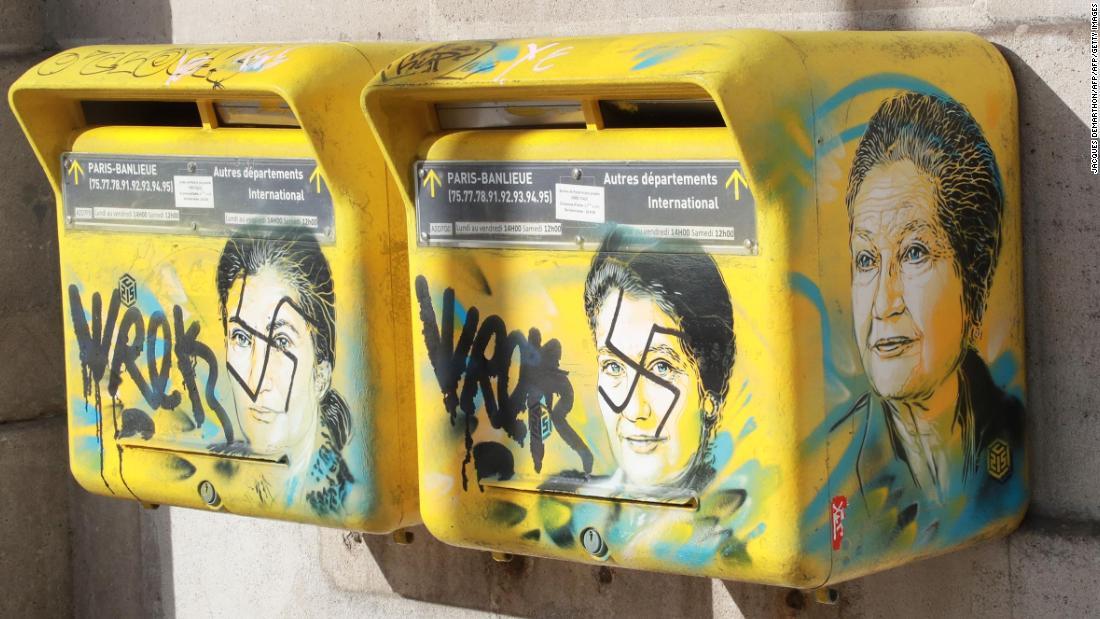 Spate of anti-Semitic vandalism hits Paris amid 74% rise in anti-Semitic acts