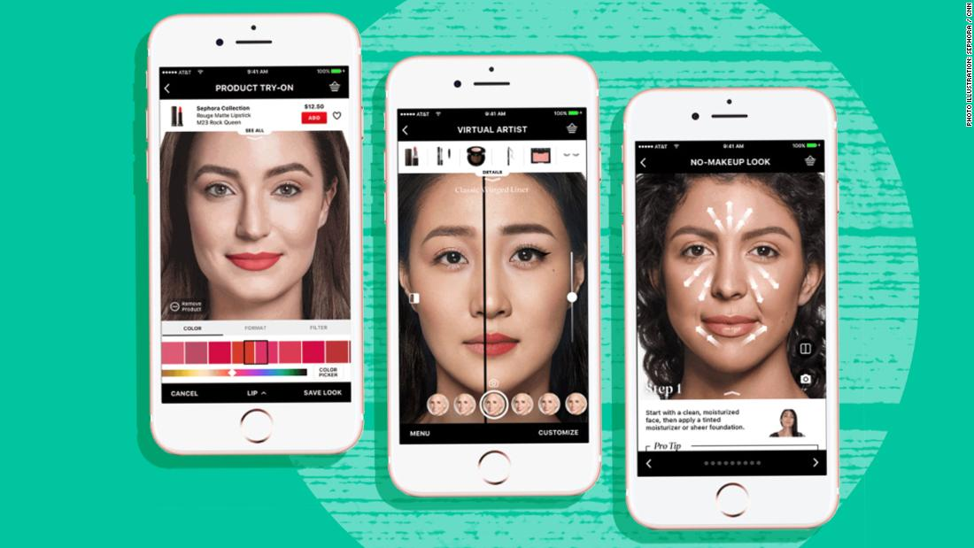 Virtual makeovers are better than ever. Beauty companies are trying to cash in - CNN