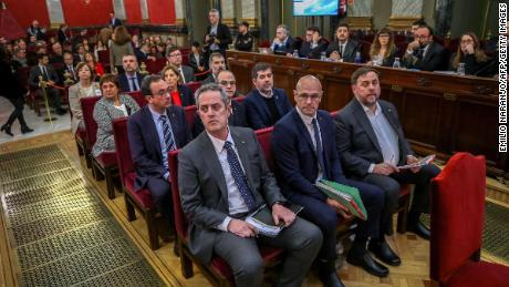 A long-awaited process of Catalan separatist leaders begins in Spain