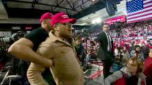 Trump Supporter Attacks BBC Cameraman VPX_00004122