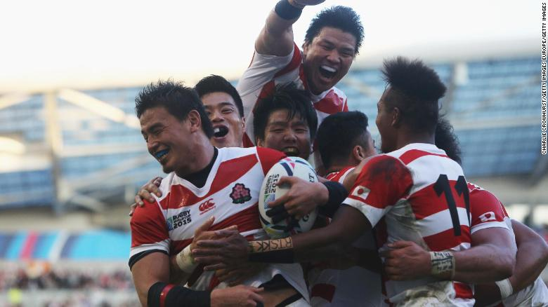 Rugby in Japan: Cherry blossoms rise up