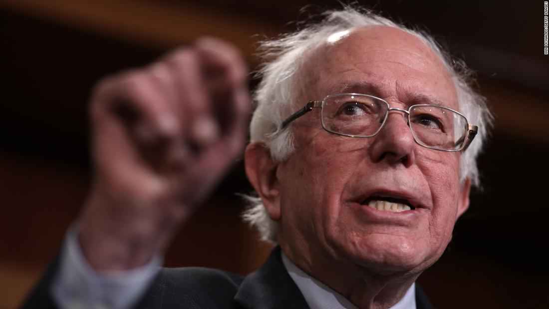 Bernie Sanders launches second presidential campaign